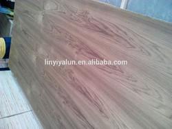 crown cut teak plywood to make door skin to Middle east market