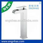 Durable single lever basin tap
