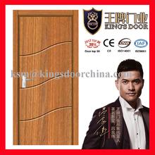 Inner PVC coated MDF door for hotels