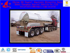 Milk transport Stainless Steel fluid Tank Truck Trailer