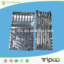 biodegradable air column cushioning bag,air cylinder plastic bag for printing suppliers,air packaging plastic bag