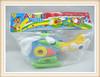 kids intelligent DIY assembled plastic toy plane