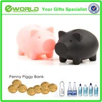New Creative gifts soft plastic Eco-friendly piggy money banks