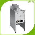De aceroinoxidable de gas freidora profunda/de aceroinoxidable de gas freidora profunda con regulador de temperatura bn-76 dispositivo