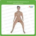 nuevo diseño de silicona muñeca del sexo del pubis con sexo real muñeca de juguete inflable