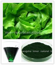 EU standard , Organic Oil-soluble Chlorophyll extract , 95% Chlorophyll