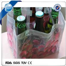 Custom Cooling portable bottle cover beer bottle cooler