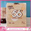 Soyou 15GSM 2ply super soft biodegradable brown colored facial tissue
