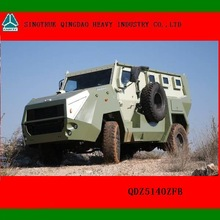 Military Bulletproof and Anti-mine Wheeled Armored Vehicle for sale