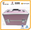 pink beauty case, aluminum beauty case, professional beauty case