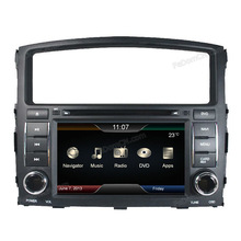 7 inch touch screen car dvd with gps navigation car dvd player for Mitsubishi Pajero/ Monterio navigation