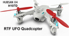 2014 Latest FPV Helicopter Hubsan H107D Mini Quadcopter UFO RTF