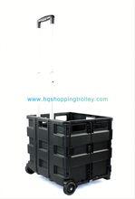 2012 hot Plastic Supermarket Hand Shopping Trolley