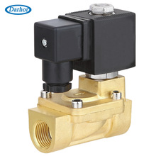 100% ED DHD series diaphragm piloted electronic solenoid valve