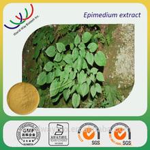 GMP HACCP China supplier wholesale sex improve herb medicine 20% icariin epimedium herb extract,epimedium plant extract