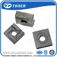 Zhuzhou High Quality Iso Carbide Insert For Face Mill in Different Grades