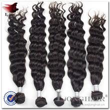 wholesale natural woven curtain deep wave malaysian hair weft
