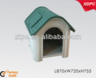 PP pet kennel with window plastic doggy cat house