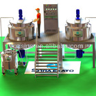 2014 sina akato hot selling liquid mixer machine automatic for shampoo/washing/detergent