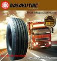 La technologie du japon rasakutire top qualité prix bon marché 1100-22.5 1100r22.5 radial pneus de camion utilisé