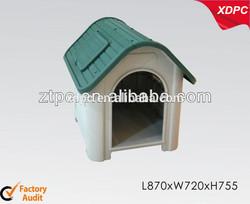 Plastic pet kennel