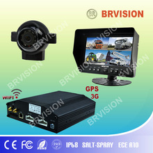 8 channel dvr IP68 Waterproof camera and monitor