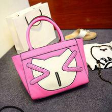 China Manufacturer Fashion leather lady handbag