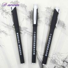 High quality Writing fluent wholesale plastic promotional gel ink pen