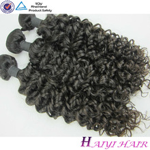 One Donor Virgin Hair Weft Large Stock human hair pony tails