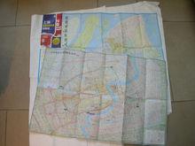 Tyvek folded map printing