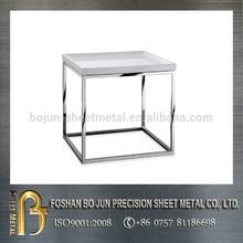 2014 hot sale Chinese high precision custom metallic tea table