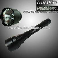 TR-T1 1600 lumens XM-L T6 Led outdoor light stylish cheap flashlight led torch hight quality