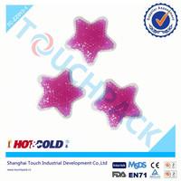 Gel beads ice pack/custom shaped ice beads gel pack/cooling beads ice gel pack