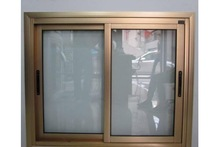aluminum alloy balcony double sliding screen doors design