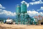 HZS50 wet mix concrete batching plant, mobile concrete batch plant
