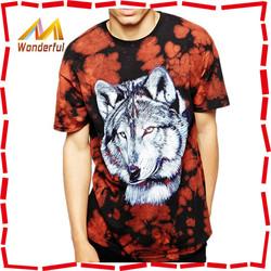 Wholesale Hot Sale 100% Cotton Custom 3d t shirt latest trend Custom t shirt