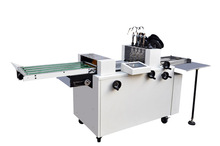 DZ-340 Double Heads Paper Folding And Wire Stapling Machine With 4mm Binding Thickness