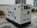 Stille schalldicht baldachin dieselgenerator 15kw 20 kva