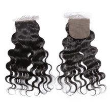 6A virgin human hair no tangle no shedding indian temple silk base closure