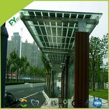 top quality transparent thin film solar panel for customized BIPV