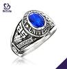Fashion jewelry custom design silver custom college class ring