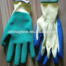 latex pam dip knite TC shell gloves