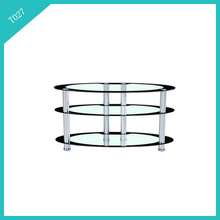 glass tv stand living room furniture hotel furniture liquidation T027