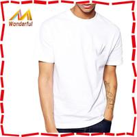 custom made fashion design 95 cotton 5 spandex t shirts elastic t shirts for men