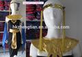 2014 instyles cleopatra eygptian diosa de la reina de halloween para mujer de lujo hasta vestido de traje de fiesta