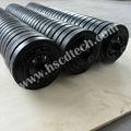 Top grade suspensão transportador de rolo tensor linha de montagem
