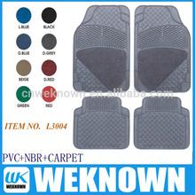 2014 new design PVC CAR MAT