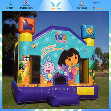 Perfect Outdoor Dora Bounce House For Sale