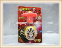 China opera facial makeup spinning top toy, spinning top toy
