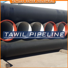 TAWIL ISO2531/BSEN545 DN200MM High alumina Cement mortar lining complying DI Pipe